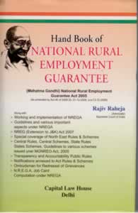 Handbook of  National Rural Employment Guarantee