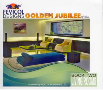 Fevicol designs golden jubilee special vol 2 living for Fevicol interior designs