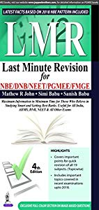 LMR LAST MINUTE REVISION FOR NBE/DNB/NEET/PGNEE/FMGE- Buy