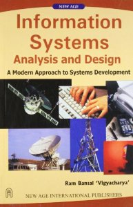 Information Systems Analysis And Design A Modern Approach To Systems Development Buy Online Now At Jain Book Agency Delhi Based Book Store