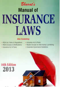 Manual of INSURANCE Laws
