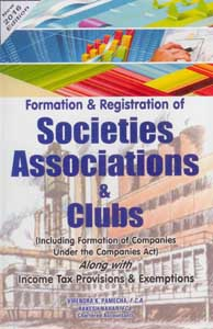 Formation & Registration of Societies, Associations and Clubs