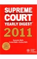 Supreme Court Yearly Digest 2011