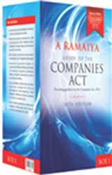 A. Ramaiyas Guide to the COMPANIES ACT (5-volumes Box-set)