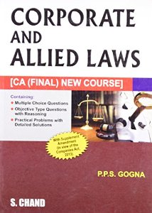 Corporate and Allied Laws for CA (Final)