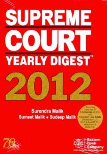 Supreme Court Yearly Digest 2012