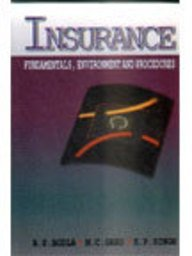 INSURANCE - Fundamentals, Environment and Procedures