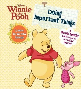 Disney Winnie the Pooh Doing Important Things
