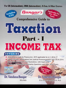 Comprehensive Guide to Taxation Part - I Income Tax