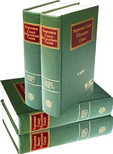 Supreme Court Education Cases (Set of 6 Volumes)