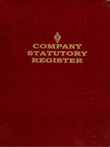 Companies STATUTORY Registers 11-in-1 (as per the new Companies Act 2013)