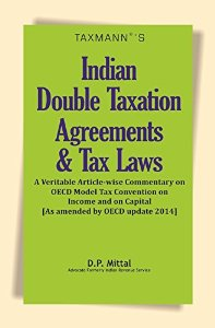 Indian DOUBLE TAXATION Agreements and Tax Laws