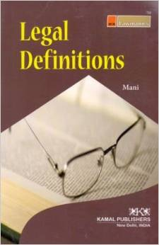 Legal Definitions (Law Dictionary)