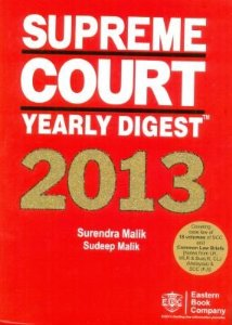 Supreme Court Yearly Digest 2013
