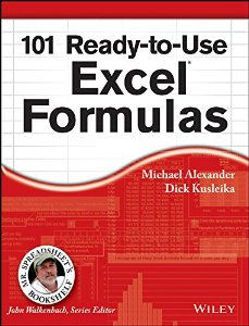 101 Ready-To-Use Excel Formulas (MISL-WILEY series)