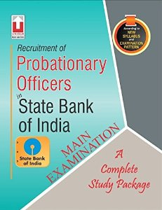Recruitment of Probationary Officers in State Bank of India