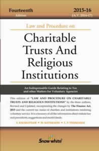 Law and Procedure on CHARITABLE TRUSTS and Religious Institutions