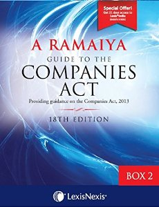 A Ramaiyas Guide to the COMPANIES ACT (Box-2 : Appendices 3, 4, 5 & 6)