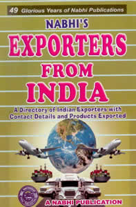 Exporters from India - A Directory of India Exporters with Contact details and Products Exported