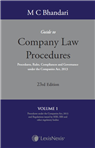 Guide to Company Law Procedures - Procedures, Rules, Compliances and Governance under the Companies Act, 2013 (in 4 Vols.)