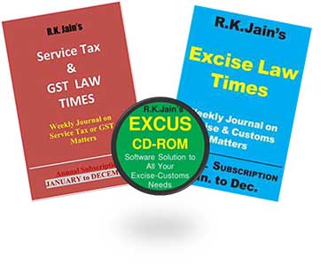 Renewal for Combo - ExCus (DVD)   ELT (weekly)   GST Law Times (weekly)