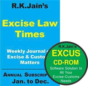 Renewal for Combo - Excise Law Times (ELT) (Weekly)   ExCus (DVD)