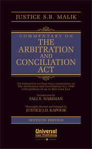 Commentary on the Arbitration and Conciliation Act