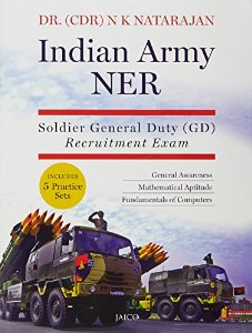 Indian Army NER - Soldier General Duty (GD) Recruitment Exam- Buy