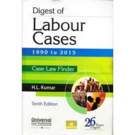 Digest of LABOUR Cases 1990 to 2015 (Case Law Finder)
