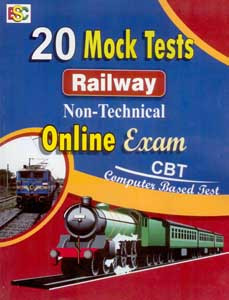 20 Mock Tests Railway Non-Technical Online Exam (CBT)