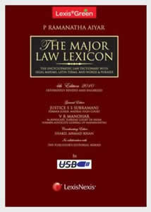 LexisGreen The Major Law Lexicon -  (Law Books & Bare Acts on a Pen drive)