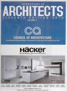Directory of ARCHITECTS 2015 (Set of 2 Volumes)