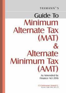 Guide to Minimum Alterate Tax (MAT) & Alternate Minimum Tax (AMT)