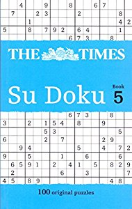 THE TIMES SU DOKU BOOK 5