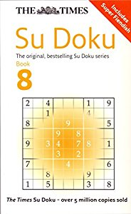 THE TIMES SU DOKU BOOK 8