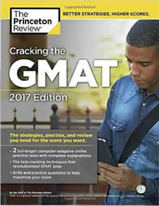 Cracking the GMAT Premium  2017 (with 6 Full Length Practice Tests) (Book   Online Tests and Practice)