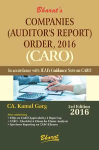Companies (Auditors Report) Order, 2016 (CARO)