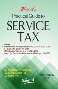 Practical Guide to Service Tax
