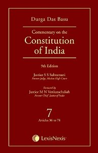 Commentary on the Constitution of India - Volume 7 (Covering Articles 36 TO 78)