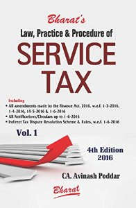 Law, Practice & Procedure of SERVICE TAX