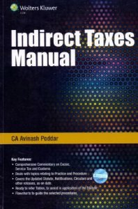 Indirect Taxes Manual