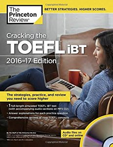 Cracking the TOEFL iBT with Audio CD, 2016-2017
