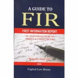 A Guide to FIR (First Information Report)