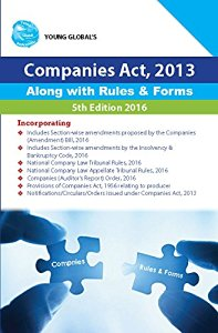 Companies Act , 2013 Along With New Rules & Forms