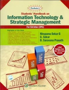 Padhukas Students Handbook on Information Technology and Strategic Management (For CA IPC / Inter)