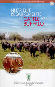 Nutrient Requirements of Cattle and Buffalo