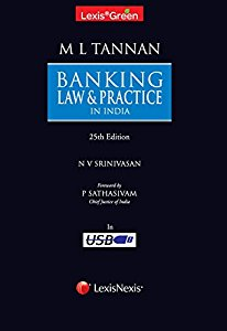 LexisGreen BANKING Law and Practice in India  (Law Books & Bare Acts on a USB Pen drive)