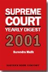 Supreme Court Yearly Digest 2001