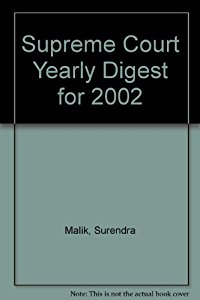 Supreme Court Yearly Digest 2002