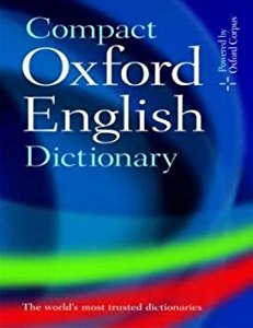 Compact Oxford English Dictionary  (English, Hardcover, Oxford University Press Team)